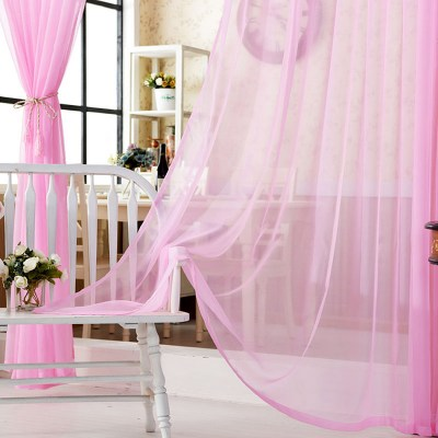 Romantic-Window-Screening-Sheer-Multiple-Colors-Ready-Made-Transparent-Solid-Pink-Tulle-For-Living-Room-Balcony